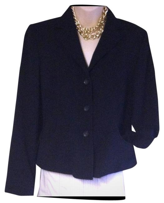 Item - Made In Italy Wool Designer Reduced Blazer Size 12 (L)