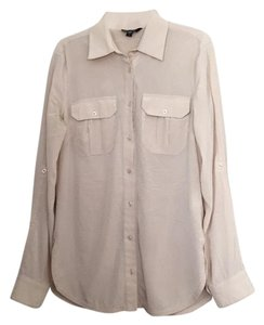 bebe Button Down Shirt