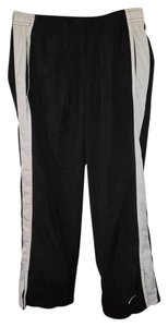Nike Nike sz - black/white multi-sport cropped athletic pants - 100% Polyester