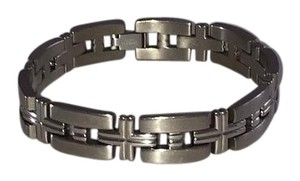 Titanium and Stainless Steel Bracelet