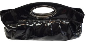 Hobo International Cluch Black patent Clutch