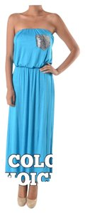 Turquoise Maxi Dress by Bohemian Free People