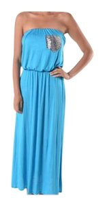 Heather Gray Maxi Dress by Other Bohemian Free People Strapless Summer Maxi