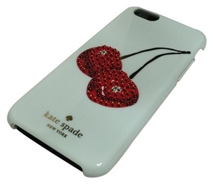 Kate Spade Spade New York Embellished Cherry Resin iPhone 6 Hybrid Hardshell Case