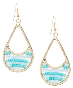 Saks Fifth Avenue Beaded Swing Earrings