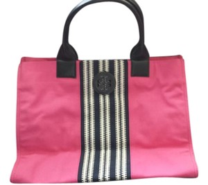 Tory Burch Travel Summer Beach Tote in Pink
