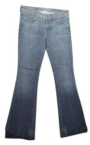 Citizens of Humanity Low Rise Flare Leg Jeans-Medium Wash