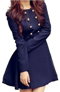 Romwe Navy Jacket