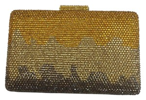 Serpui Evening Crystal Evening Go Out gold multi Clutch