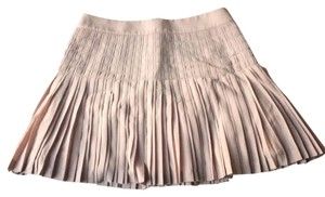 J.Crew Pleated Lined Mini Skirt Pink