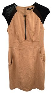 Nanette Lepore short dress Camel on Tradesy