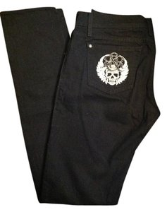 Rock & Republic Designer Detail Skinny Jeans-Dark Rinse