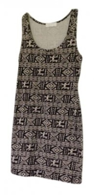 Forever 21 short dress Brown and black tribal on Tradesy