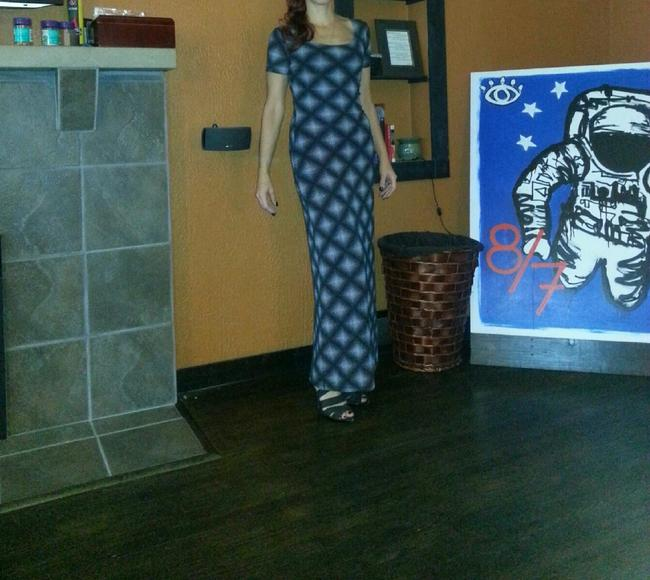Black and White Maxi Dress by Newport News