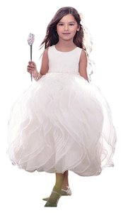 Alfred Angelo Ivory Ariel 720 Ariel's Disney Flower Girl Dress. Flower Girl. Dress