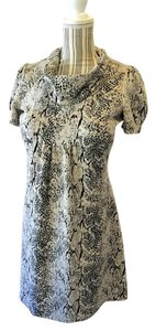 Calvin Klein Retro Snakeskin Print Dress