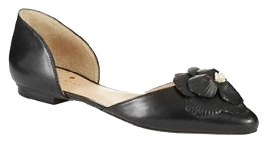 Kate Spade New York Elysee Leather Pointed New York New York Leather New York Leather Leather Black Flats