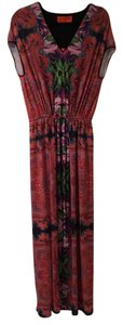 Mutli colored/print Maxi Dress by Clover Canyon