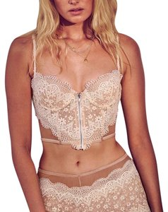 Victoria's Secret Long Line Lace Bra 34D