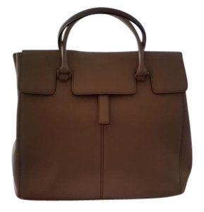 Adrienne Vittadini Satchel in Tan