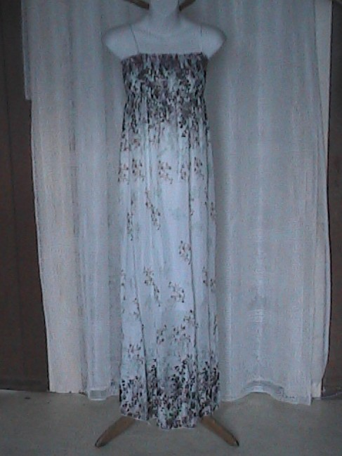 Floral White Maxi Dress by Other Floral Sun