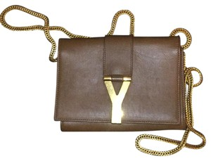 Saint Laurent Brown Messenger Bag