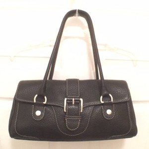 Michael Kors Leather Mk Satchel Vintage Shoulder Bag