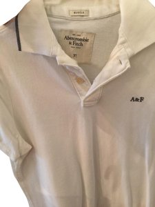 Abercrombie & Fitch Shirt Men's Men Button Down Top White