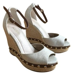 ALDO Gucci Prada Celine Nude or natural Wedges