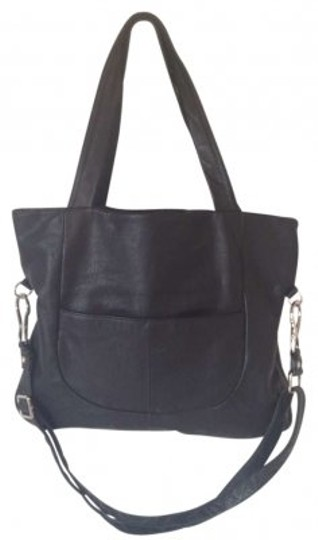 Preload https://item4.tradesy.com/images/hobo-international-with-convertible-strap-black-leather-tote-153028-0-0.jpg?width=440&height=440