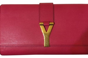 Saint Laurent Fuschia Clutch