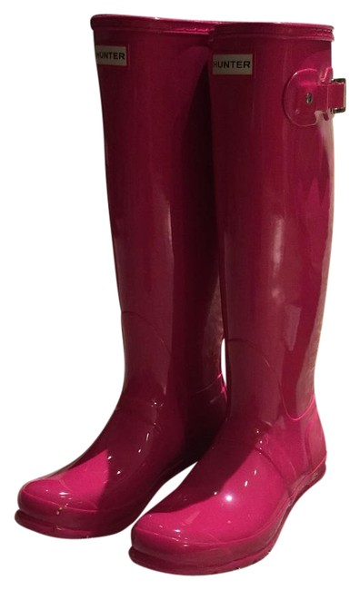 Item - Pink Tour Gloss Boots/Booties Size US 8 Regular (M, B)
