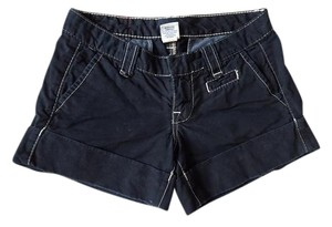 True Religion Cuffed Shorts Black