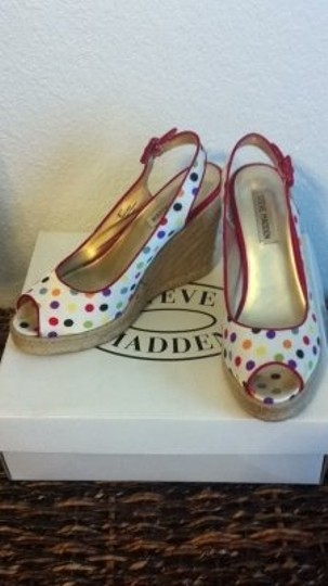 Steve Madden Canter Bright Multi Wedges