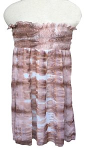 Lumiere short dress Strapless Tie Dye on Tradesy