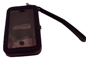 Unknown Black iPhone 4s Case And Wrist Wallet