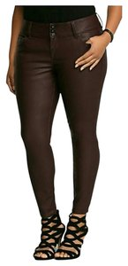 Torrid 16 Skinny Plus Size Skinny Pants ox blood