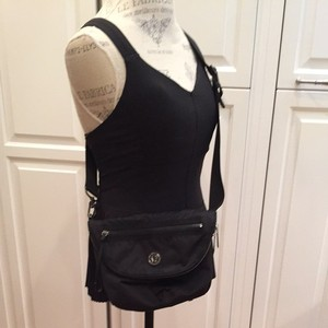 Lululemon Black Messenger Bag