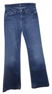 7 For All Mankind Dojo Trouser/Wide Leg Jeans