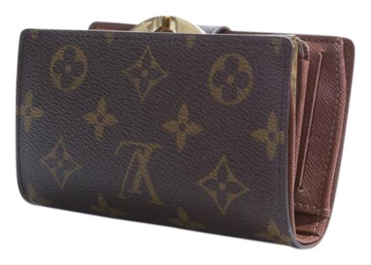 Louis Vuitton Louis Vuitton Viennois NM Monogram Wallet French Purse Canvas