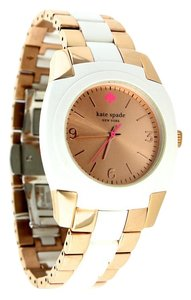 Kate Spade * Kate Spade New York Women's Rose Gold White Skyline Watch
