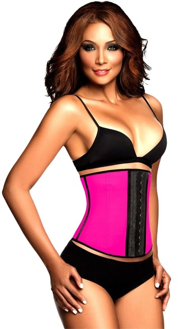 Item - Pink Small 32 Fits Waist 27 To 28 (2 Hooks) 2026 Sport Training Girdle 32)colombian Best Body Shapers/Fajas Trainer Used By The