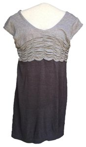 Anthropologie short dress Gray Mystree on Tradesy