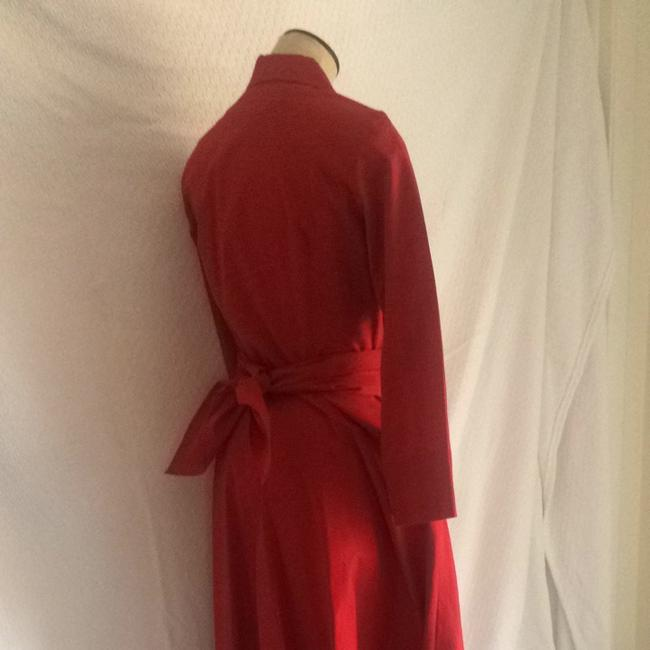 Red Maxi Dress by The J. Peterman Company