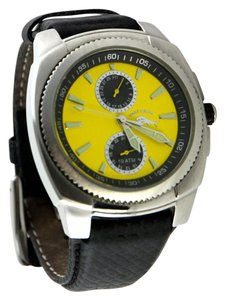 Tommy Bahama * Tommy Bahama Men's 'Relax' Yellow Chronograph Dive Watch 42mm