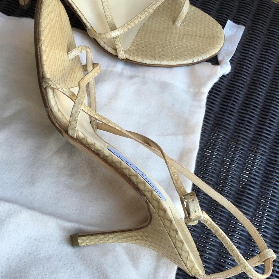 Snakeskin Jimmy Nude Strappy Formal Shoes Choo tB7qBx1