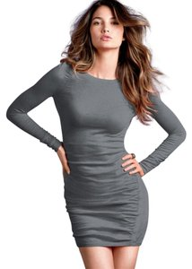 Victoria's Secret short dress Black, White, Grey on Tradesy