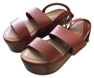 Elizabeth and James Vintage Strappy Summer Leather Leather Bronze Mules