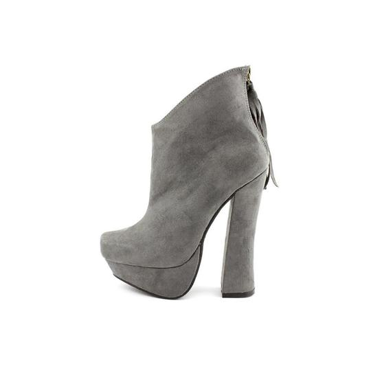 C Label Rocker Gray Boots