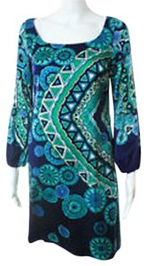 Julie Brown Silk Mandala Dress